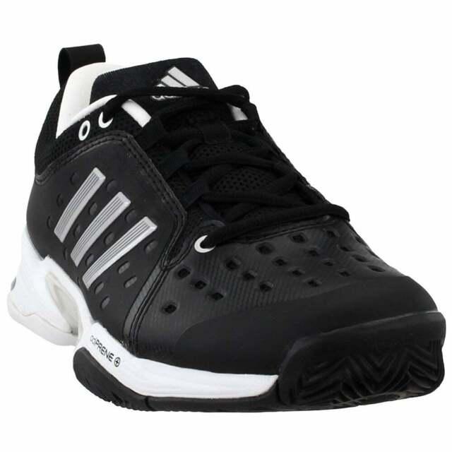 adidas Barricade Classic Wide 4E  Casual Tennis  Shoes - Black - Mens