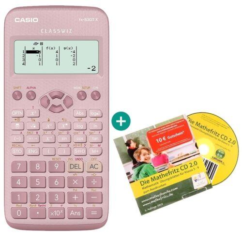 auf Deutsch Casio FX 83 GT X Pink Lern-CD