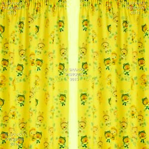 Cbbc Waybuloo Curtains 66 Width X 54 Drop Cbeebies Pre School Childrens Bedroom