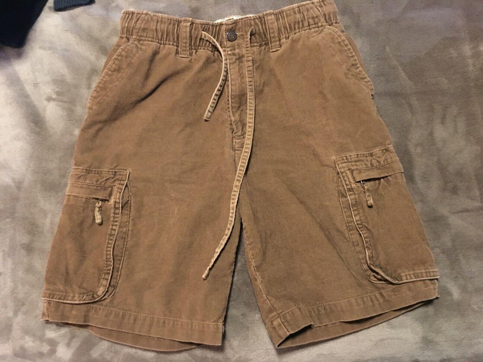 Vintage Op Ocean Pacific Corduroy Mens Shorts Size S 28-30