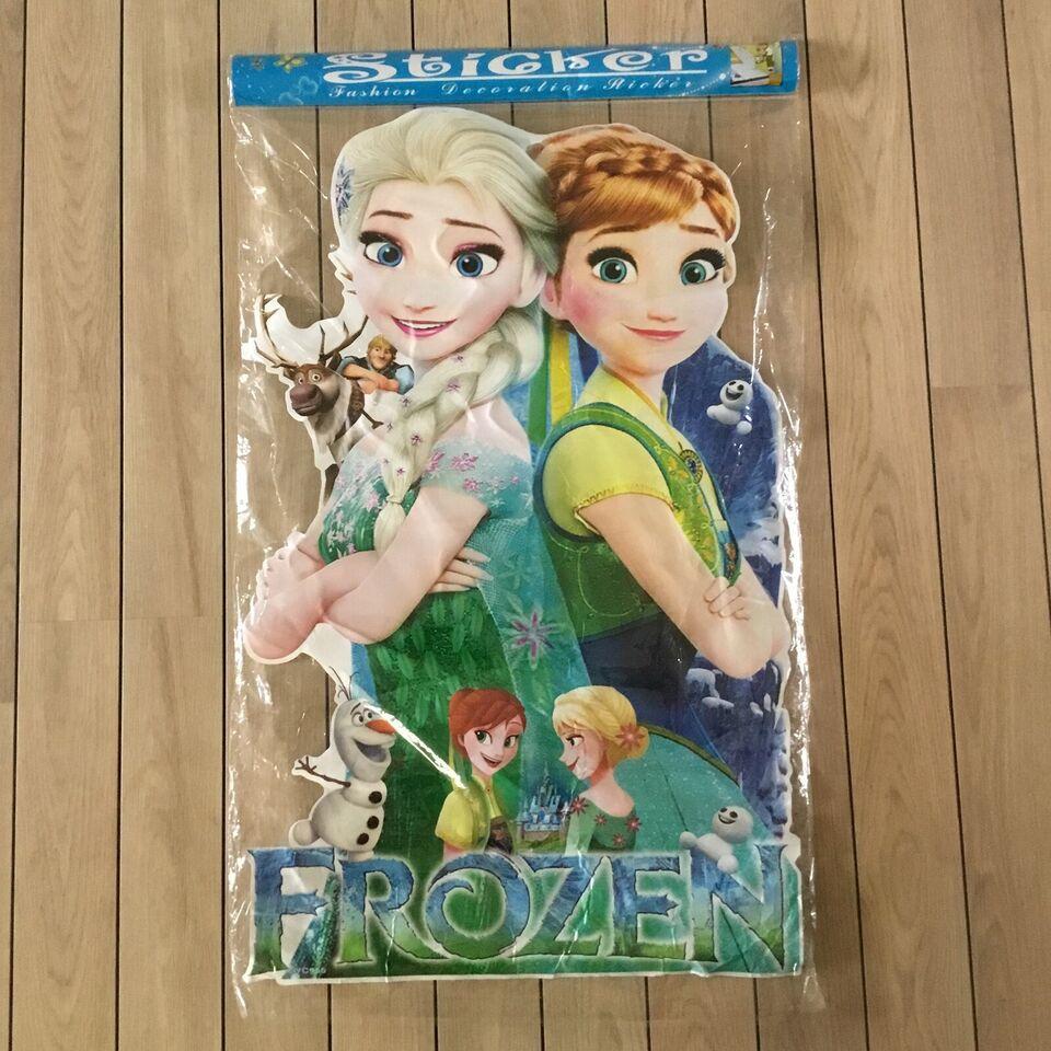 Wallstickers, Frost wallstickers med Elsa og Anna fra