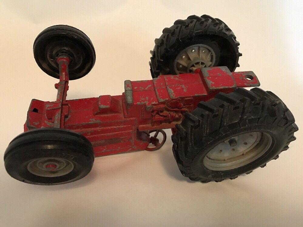 Vintage Red Metal Die Cast Tractor Farm Toy 116 Scale Ertl