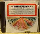 EFFETTI SONORI - SOUND EFFECTS - VOL. 4 - CD New Unplayed