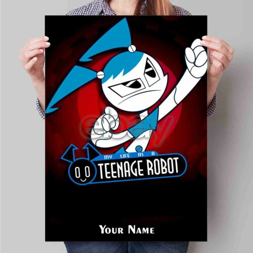 My Life as a Teenage Robot Custom Print Art Poster Wall Decor