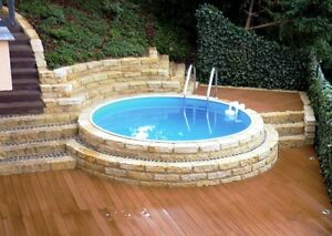 Stahlwandpool set rund pool stahlwandbecken rundpool for Rundpool set angebot