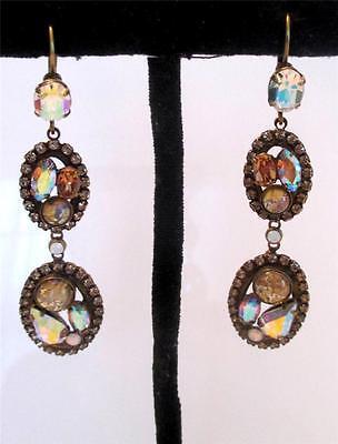 NEW Sorrelli Light Colorado Aurora Borealis Crystal Chandelier Earrings Mirage