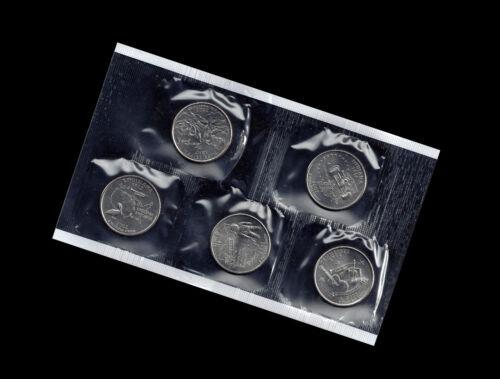 2002 P Tennessee Ohio Louisiana Indiana Mississippi Statehood Quarter Mint Set