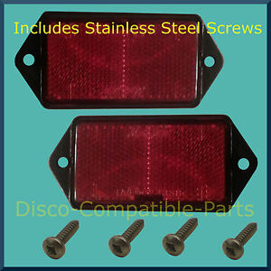 Land Rover Defender Rear Stop Tail Light Unit Stainless Steel Screws From 1994