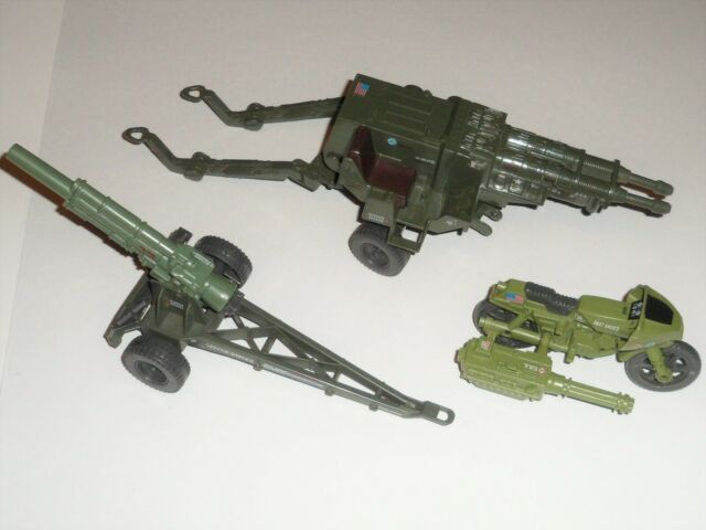 GI Joe Mountain Howitzer Battle Station SHELL BREECH Vtg part 1984 g.i