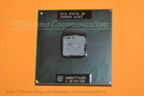Intel Core 2 Duo T6600 2.2GHz Laptop Processor SLGF5 for TOSHIBA L505-S5997