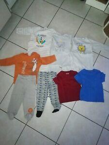Lots Vêtements Bébé 18 Mois Été