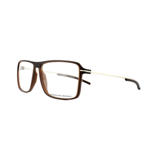 383183d6baa3 Porsche Design P 8295 Brown Men Authentic Eyeglasses for sale online ...