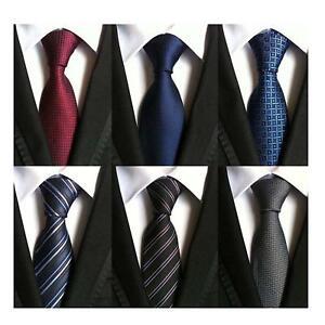 Image result for WeiShang Lot 6 PCS Classic Men's Tie Silk Necktie Woven JACQUARD Neck Ties