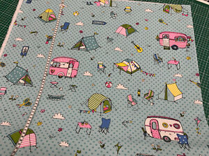 Canvas-Camping-Wohnwagen-Zelte-Punkte-auf-mint