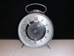 Vintage-Mechanical-Alarm-Clock-China-Shanghai-Old-Collectible