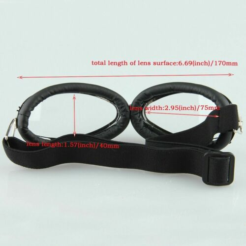 Motorcycle Bike Windproof Riding Goggles Anti-UV Glasses Mirror Lenses #26