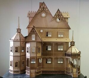 Image Is Loading Ashley II Gothic Victorian Mansion Dollhouse Very Large