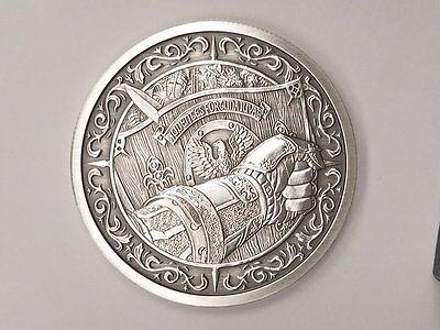 Mors Draco 2 oz Silver PRE-SALE Antiqued Capsuled Round W//COA Destiny Knight