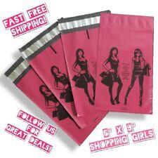 Jayamailers 6x9 Shopping Girls Designer Poly Mailers Shipping Envelopes