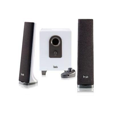Hercules XPS 2.1 40 Slim (White) 2.1Ch Multimedia Speakers