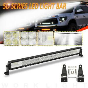 32-Inch-5D-1070W-LED-Work-Light-Bar-Flood-Spot-Combo-Offroad-Lamp-Car-Truck