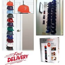 Good 36 Caps Organizer Door Baseball Hat Holder Cap Rack Closet Hanger System  Storage