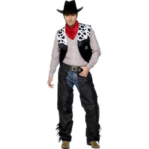 Men/'s John Wayne Cowboy Costume Divertente PISTOLERO addio al celibato tema Divertente