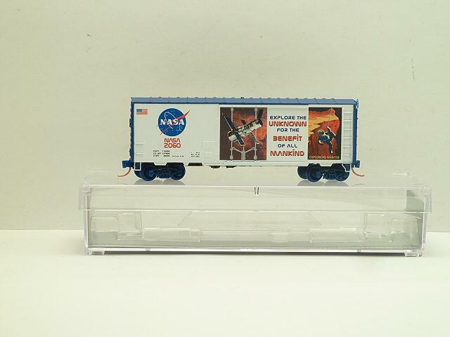 NSE 18-177 NASA Hubble Telescope 40' Box Car In the Series
