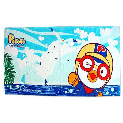 Pororo beach towel ocean design 150cm x 75cm excluding bag (standard & sweety)