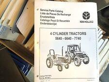 New Holland 5640 6640 7640 Tractor Factory Parts Catalog Unused Nip