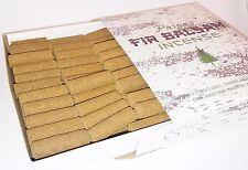 "72 Balsam Fir Logs incense by Paine's 3/8"" diam. cabin burner refill sticks"