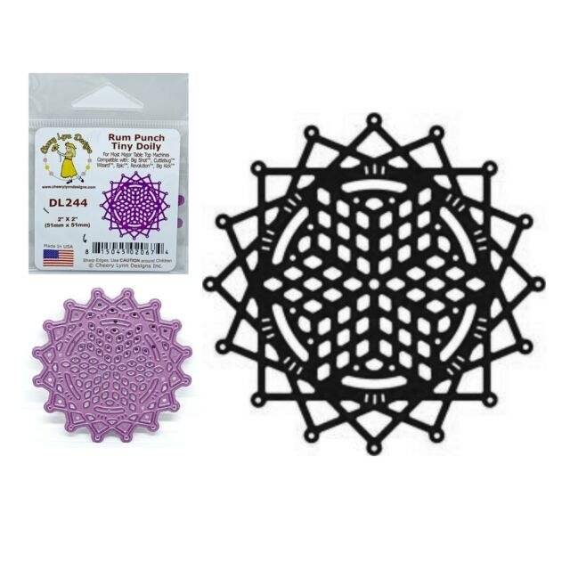 Cheery Lynn French Pastry Doily Dies