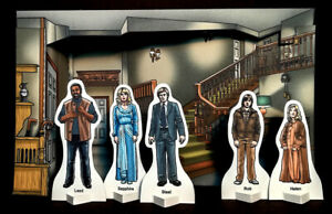 Weetabix-style-SAPPHIRE-AND-STEEL-DIORAMA-5-Character-Cards-TV-show-Set-1