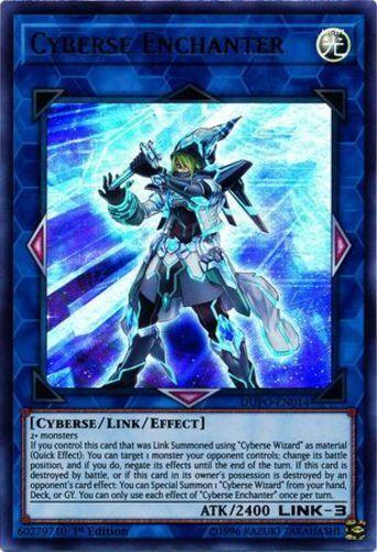 1st Edition Duel Power Near Min DUPO-EN014 3x Cyberse Enchanter Ultra Rare