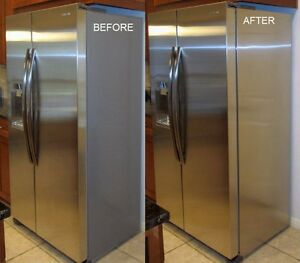 Image Is Loading Frigo Design Stainless Steel Refrigerator Side Panels Fits