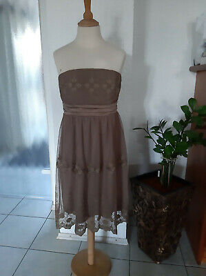 Esprit Abendkleid Cocktailkleid Ballkleid Kleid Bolero Jacke Gr S 36 Wneu Ebay