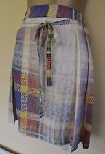 New Vivienne Westwood Hope 44 Faded Tartan Check Kilt Wedding Races Skirt £345