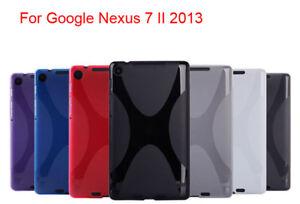 Soft-X-Style-Shell-Gel-TPU-Silicone-Case-Skin-Cover-For-Google-Nexus-7-II-2013
