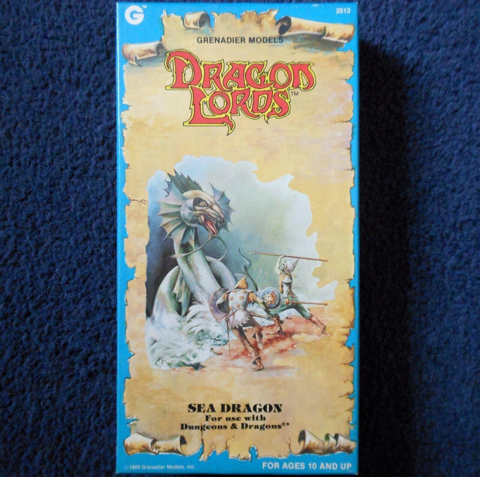 1985 Sea Dragon Lords Grenadier Models 2513 Dungeons & Dragons AD&D Wyrm Fantasy