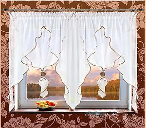 4-00-m-x-1-45-m-Hochwertige-Fertiggardinen-Gardinen-Vorhaenge-Store-viele-Farben