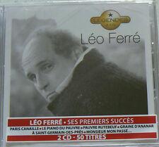LEGENDES (BEST OF) FERRE LEO (CD x2)  NEUF SCELLE