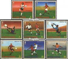Äquatorial-Guinea 1153-1160 (kompl.Ausg.) gestempelt 1977 Fußball-WM ´78, Argent