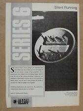 vintage magazine advert 1989 TRACE ELLIOT SERIES 6