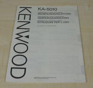 Kenwood KA-5010 Bedienungsanleitung (mehrsprachig, auch in Deutsch)