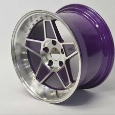 "FYK ED3 16"" 8j 9j Et15 Alloy Wheels 4x100 EURO DRIFT BMW E30 VW Golf Mk1 Mk2 Mx5"