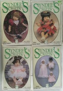 Syndees-Crafts-Doll-Clothes-4-Sew-Patterns-Precious-Victoria-Baby-Doll-Playtime