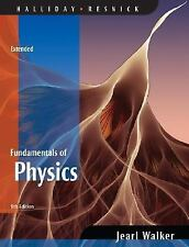 Fundamentals of Physics by David Halliday, Robert Resnick and Jearl Walker USED
