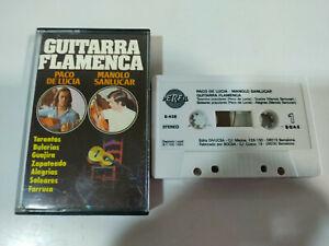 Paco-de-Lucia-Manolo-Sanlucar-Guitarra-Flamenca-1994-Cinta-Tape-Cassette