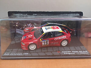 DIE-CAST-034-CITROEN-XSARA-KIT-CAR-RALLY-CATALUNYA-1999-034-PASSIONE-RALLY-SCALA-1-43