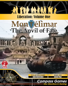 Compass Games Montelimar The Anvil Of Fate New In Shrink Wrap Fast Shipping